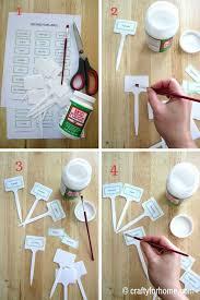 free printable vegetable plant markers make your plant markers for your vegetable garden with this