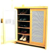 closet door shoe rack storage holder for two cabinet racks closetmaid over the do