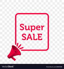 Sale Quote Super Sale Message Quote Megaphone Icon