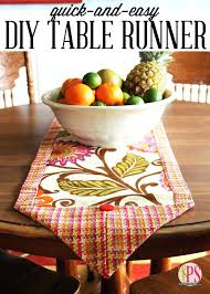 10 Minute Table Runner Pattern Magnificent 48 Minute Table Runner Pattern Easy Table Runner 48 Minute Table