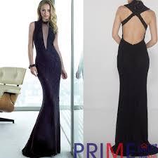 Js Designs Dresses Prime Js 2015 Latest Designs Black Lace Backless Long
