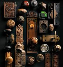 collection of door knobs.because old door knobs are fabulous!