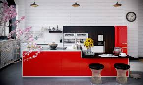 Red Kitchen 15 Red Kitchen Design Ideas