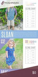Childrens Sloan Mae Size Charts Childrens Sloan Mae