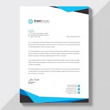 Letterhead Creator Free Letterhead Design Template Clipart Images Gallery For Free