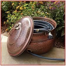 garden hose pot lid garden hose