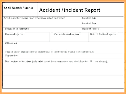Vehicle Accident Report Form Template Apvat Info