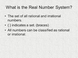 Real Number System Venn Diagram Venn Diagram For Real Numbers Classification Under