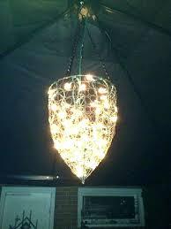 led gazebo chandelier hanging battery operated