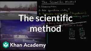 Big Ideas In Biology Chart Answers The Scientific Method Video Khan Academy