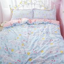 cinnamoroll cotton bedding sheet quilt