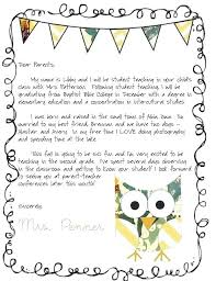 Green Logo Welcome Letter To Parents School Letters Template