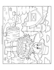 Christmas coloring pages for kids & adults to color in and celebrate all things christmas, from there is a mix of difficulty, from cute pictures for toddlers and preschoolers to more detailed designs simply click on the image or link below to download your printable pdf. Fall Coloring Pages Free Printable Pdf From Primarygames
