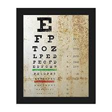 Logmar Snellen Chart Amazon Com Grunge Eye Chart Distressed Antique Vintage