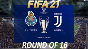 FIFA 21 Porto vs Juventus | Champions League 2021