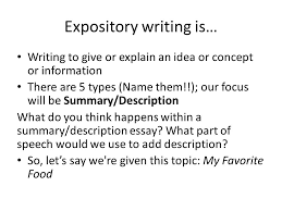 what is expository writing ppt video online 2 expository