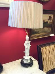 pair of vintage blanc de chine lamps zoom