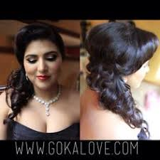 makeup and hair for an indian wedding reception in rhode island hairstyle curls