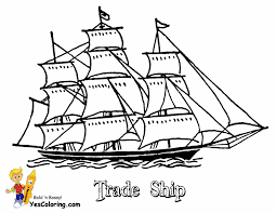 Small Picture Sky High Tall Ships Coloring Pages Ship Free Sailing Boats