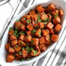sweet potato recipes indian. Brilliant Sweet Chili Roasted Sweet Potatoes On Potato Recipes Indian E