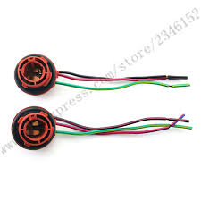 popular bulb strand lights buy cheap bulb strand lights lots from 1157 1158 2057 2357 plug wiring harness sockets for turn signal light bulb