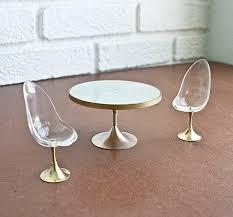 modern miniature furniture. Vintage Modern Dollhouse Furniture Miniature