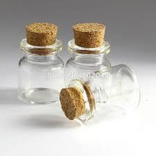 Decorative Glass Bottles Wholesale 100 Wholesale 100ml Mason Jar Glass Bottles Vials Jars With Cork 55