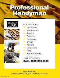 free handyman flyer template handyman template professional handyman flyer poster