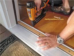 front door thresholddoor  How To Replace An Exterior Door Part 4 Amazing Exterior