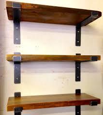 trendy unique shelving brackets cherry wood wall shelves shelving units large size