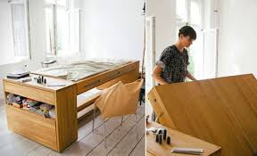 office desk bed. clever workbed desk combines office and bed into one n