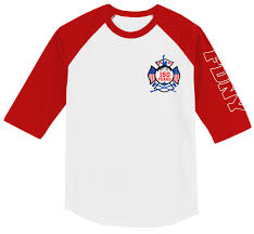 Fdny 150th Anniversary Baseball T Shirt