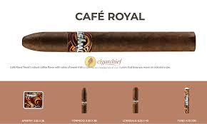 Lonsdale Size Chart Pacific Twyst Cigars Cafe Royal Lonsdale Flavored Cigar Size
