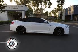 BMW Convertible custom m6 bmw : BMW M6 Wrapped in Satin White   Wrap Bullys