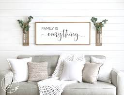 living room wall decor family pictures