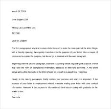 sample closing business letter 7 documents in pdf word for closing paragraph business letter