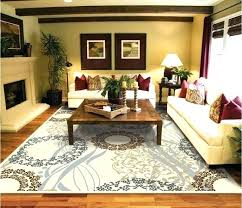 living room area rug placement proper