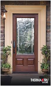 cheap front doors with glass