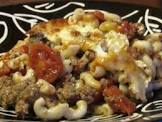 beef   elbow macaroni casserole with sour cream