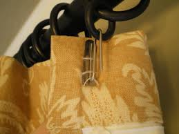 image of perfect curtain ring clips