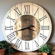 chaney wall clock inch farmhouse clock rustic wall clock by inch farmhouse clock rustic wall clock chaney wall clock