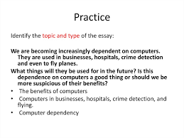 Dependence On Computers Essay Essays Topics And Types Online Presentation