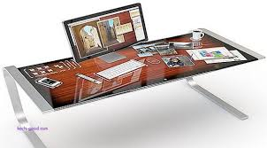 Futuristic Computer Desk Fresh Futuristic Desktop 3d Multi Touch Puter Desk  Design