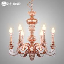 get ations designer lamps european luxury hotel creative bee honey crimson rose gold copper lamps bedroom lamps living