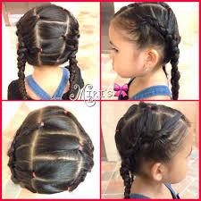 Little Girl Hair Style two braid hair style for little girls hairstyles for little 3547 by wearticles.com