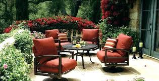 wicker patio rocker chair aluminum resin rocking furniture cushions outdoor swivel