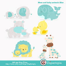 mother and baby animal clipart. Interesting Animal Mom And Baby Animal Clipart  Kid Graphic Library Download For Mother Y