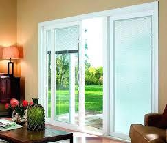 kitchen sliding door curtains