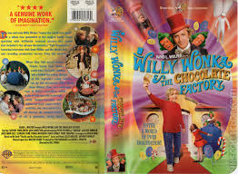 willy wonka the chocolate factory com your willy wonka the chocolate factory vhs cover