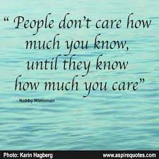 I Care About You Quotes Magnificent Do You Care Aspire Quotes
